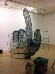Installing the big hand